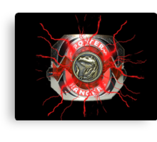 It's Morphin Time - TYRANNOSAURS Canvas Print