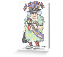 Royal Watcher Greeting Card
