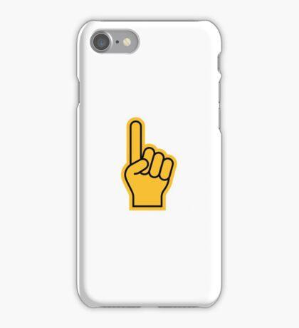 Sports Fan finger iPhone Case/Skin