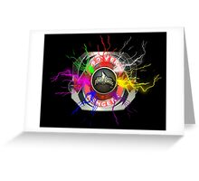 It's Morphin Time - Go Go Power Rangers Greeting Card