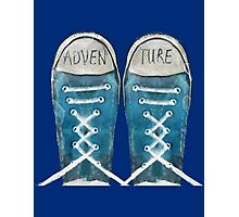 Adventure shoes Photographic Print