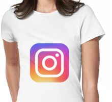 IG - Instagram Womens Fitted T-Shirt