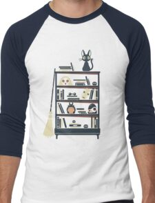 Ghibli shelf Men's Baseball ¾ T-Shirt