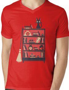 Ghibli shelf Mens V-Neck T-Shirt