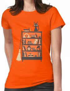 Ghibli shelf Womens Fitted T-Shirt