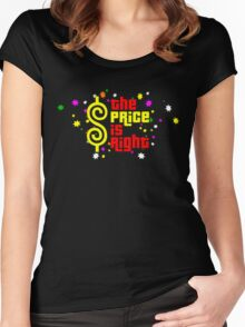 Colorfull The Price is Right Women's Fitted Scoop T-Shirt