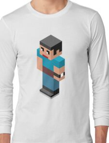 Isometric male person Long Sleeve T-Shirt