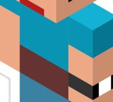 Isometric male person Sticker