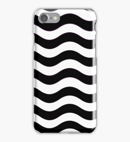 Iskybibblle Boutique Patterns   Black and White iPhone Case/Skin
