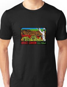 Bryce Canyon National Park Utah Vintage Travel Decal 2 Unisex T-Shirt