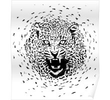 Particle Tiger Poster
