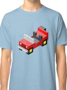 Isometric red off-road car Classic T-Shirt
