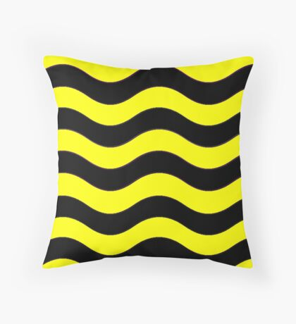 Iskybibblle Boutique Patterns   Bumblebee Throw Pillow
