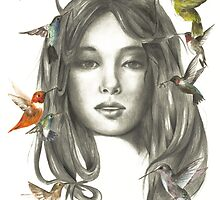 Hummingbirds by HaPham
