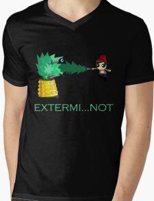 Extermi-not Powerpuff Eleventh Doctor Mens V-Neck T-Shirt