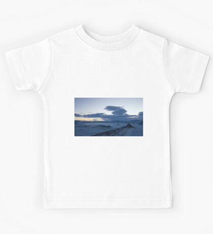 Dawn over Lake Myvatn Kids Tee