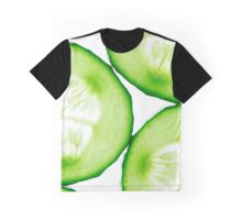 Fresh juicy cucumber Graphic T-Shirt