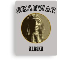 Just In Time Skagway Canvas Print
