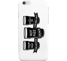 The Winchester, The Crown & The Golden Mile iPhone Case/Skin
