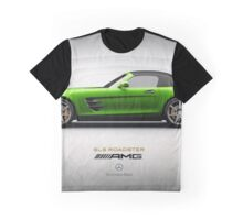 2011 Mercedes-Benz SLS AMG Roadster Graphic T-Shirt