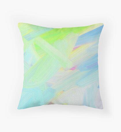 Breeze Brush Throw Pillow