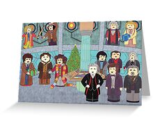 Doctor Who Christmas - Doctors' Reunion Greeting Card