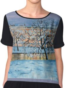 When Time Stops for a Moment - Twilight Chiffon Top