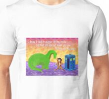 4th Doctor and unexpected friend Unisex T-Shirt