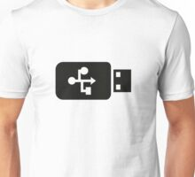 USB Flash Drive Unisex T-Shirt
