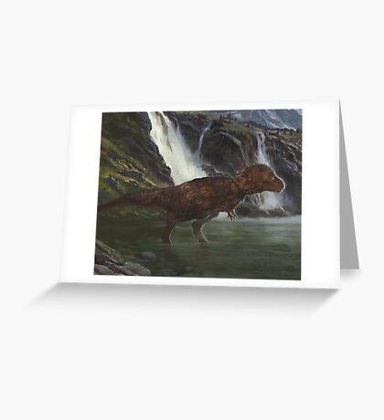Tyrannosaurus Greeting Card