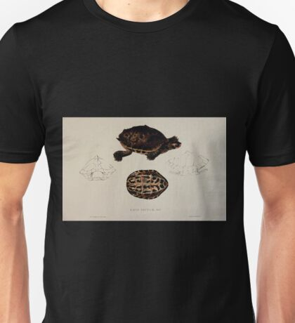 Tortoises terrapins and turtles drawn from life by James de Carle Sowerby and Edward Lear 046 Unisex T-Shirt