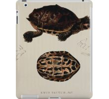 Tortoises terrapins and turtles drawn from life by James de Carle Sowerby and Edward Lear 046 iPad Case/Skin