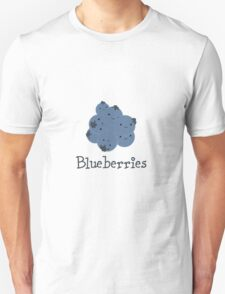 Cute Kawaii Blueberries Unisex T-Shirt