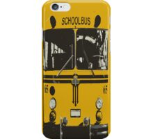 Yellow School Bus iPhone Case/Skin