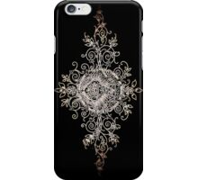 iPhone Case very old print ornament 1864 iPhone Case/Skin