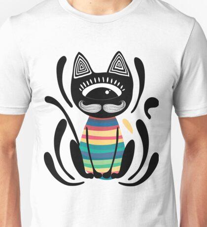 Tribal cat Unisex T-Shirt