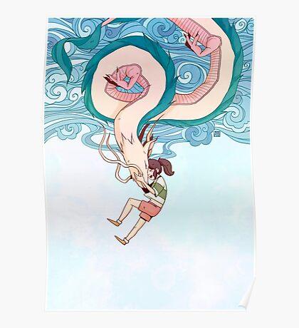 Haku & Chihiro Poster