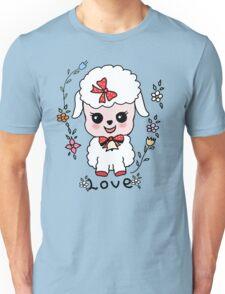 ovejita alegre Unisex T-Shirt