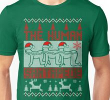 The human santapede ugly christmas sweater xmas Unisex T-Shirt
