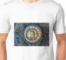 Mosaic on the inner side of the temple dome Unisex T-Shirt