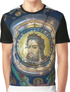 Mosaic on the inner side of the temple dome Graphic T-Shirt