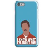 I know what i'm about son iPhone Case/Skin