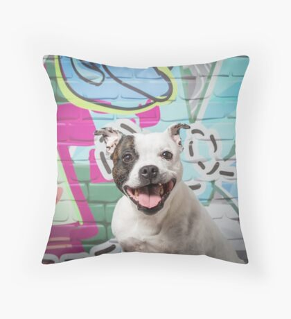 Mouse cushion or tote Throw Pillow