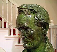 Lincoln In 1860 -- A Ford's Theater Bust by Cora Wandel