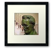 Lincoln In 1860 -- A Ford's Theater Bust Framed Print