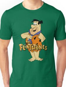 The Flintstones Funny Cartoon Unisex T-Shirt