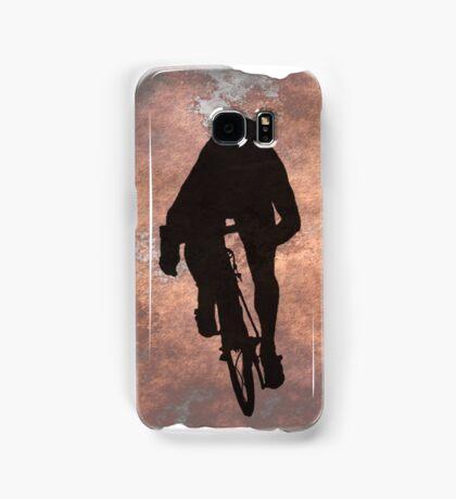 Cycling Sprinter on Italian Flag Samsung Galaxy Case/Skin