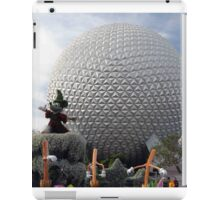 Sorcerer Mickey at Spaceship Earth iPad Case/Skin