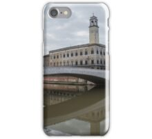 Architecture of Pisa city with traditional narrow streets, Italy iPhone Case/Skin