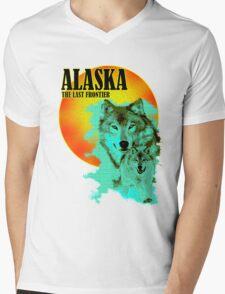 Alaska In Summer Time Mens V-Neck T-Shirt